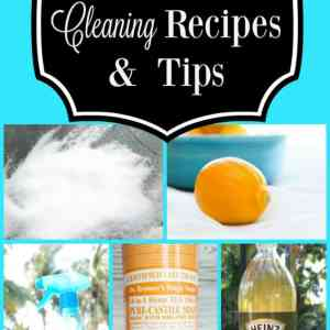 20 DIY Natural Cleaning Recipes and Tips