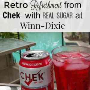 Retro  Refreshment from Chek  With Real Sugar at Winn-Dixie