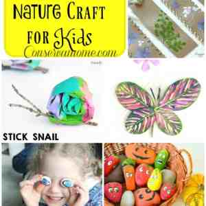 40 Creative Nature Crafts For Kids
