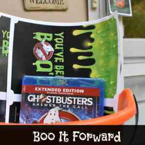 #BooItForward with Ghostbusters Answer the Call