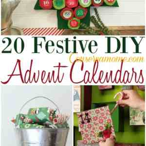 20 Festive DIY Advent Calendars