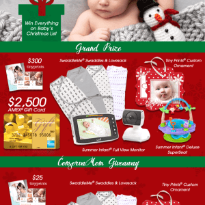 Baby's First Wishmas Giveaway over $3000 In prizes!