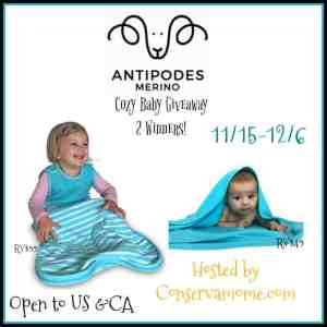 Antipodes Merino Wool  Baby Products Review + Giveaway