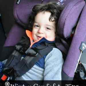 Winter Car Seat Safety Tips from diono