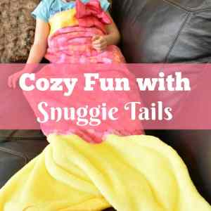 Cozy Fun with Snuggie Tails review + Giveaway