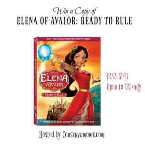 Elena of Avalor:Ready To Rule DVD Giveaway