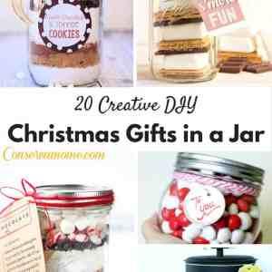 20 Creative DIY Christmas Gifts in a Jar