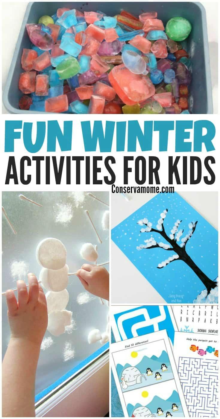 Fun Winter Activities for Kids - PIN