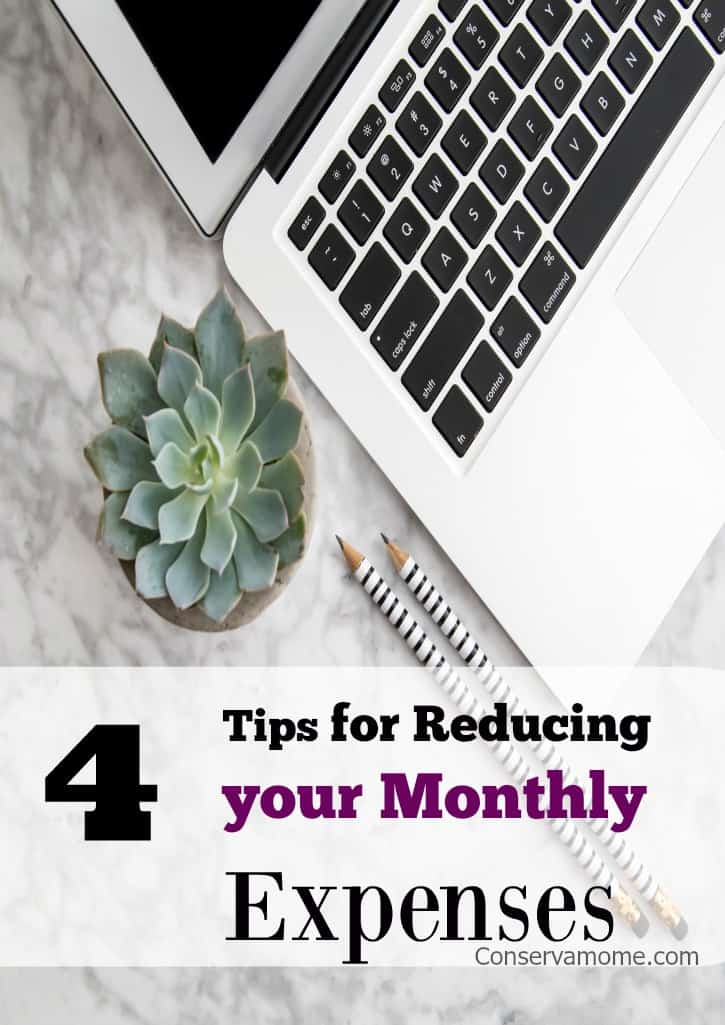 Reducing your Monthly Expenses