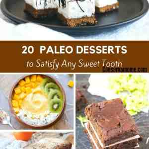 20 Paleo Desserts to Satisfy any Sweet Tooth