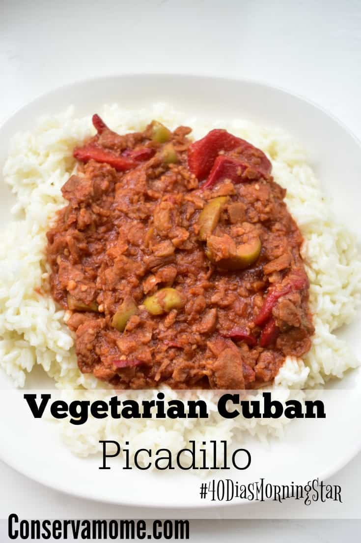 Vegetarian Cuban Picadillo