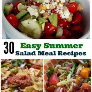 30 Easy Summer Salad Meal Recipes