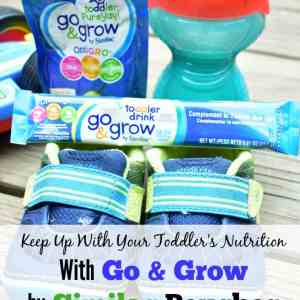 Keep Up With Your Toddler's Nutrition With Go & Grow by Similac Pouches