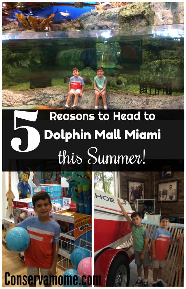 Find out 5 Reasons to Head to Dolphin Mall Miami this summer