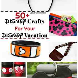 50+ DIY Disney Crafts For Your Disney Vacation