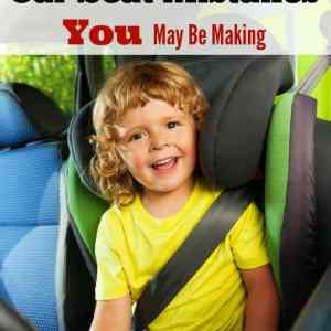 10 Car Seat Mistakes You May Be Making
