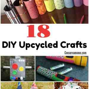 18 DIY Upcycled Crafts
