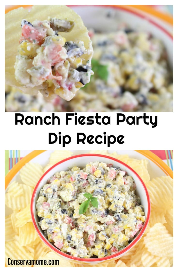 The Ranch Fiesta Party Dip is the perfect recipe for a fun party or gathering. Easy to put together and so delicious to eat, it will be so popular it will disappear quickly!
