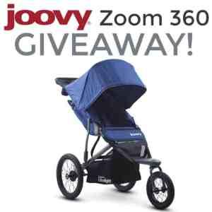 Joovy Zoom360 Ultralight Jogging Stroller 7/26