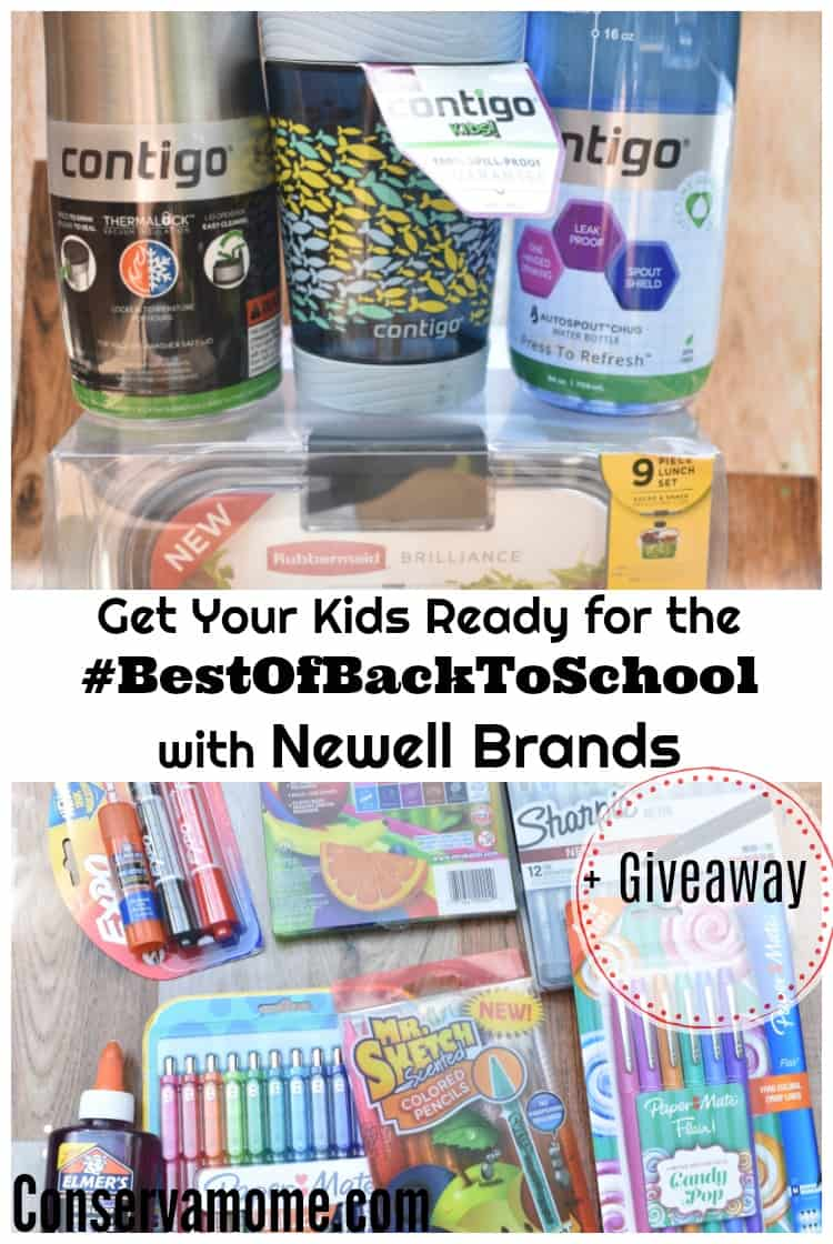 Get Your Kids Ready for #TheBestofBacktoSchool with Newell Brands