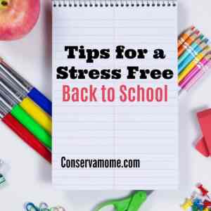 Tips for a Stress Free Back to School + Giveaway