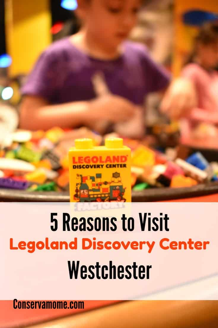 There's so much fun to be had at Legoland Discover Center Westchester. Although there's more, find out 5 reasons why you must visit!