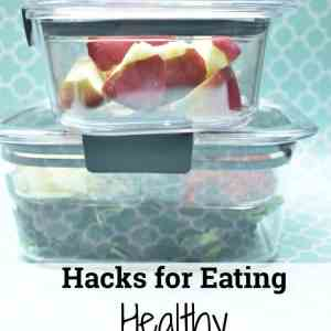 Hacks for Eating Healthy on The Go + Giveaway #StoredBrilliantly