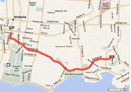 Transit Route to Abkhazi Gardens