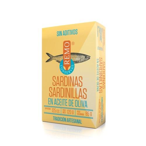 Sardinillas en Aceite de Oliva. Lata 120 g