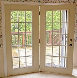 energy efficient hinged french patio