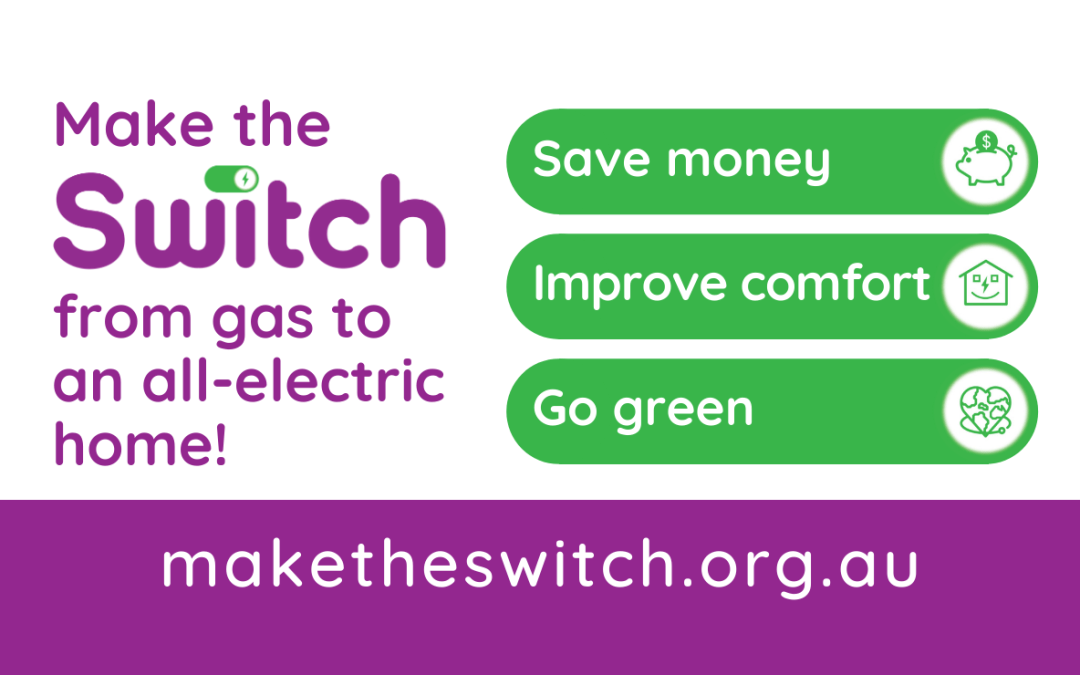 MEDIA RELEASE: Make the Switch website guides Canberra households off gas onto electricity