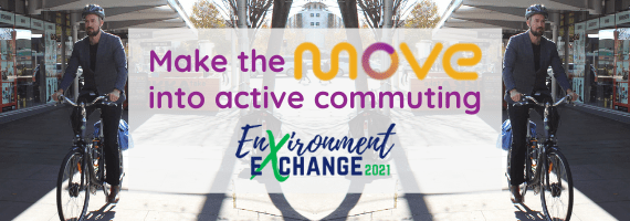 Make the move into active commuting: Environment Exchange