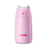Pink Cat Thermos
