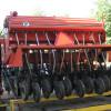 A no-till drill help minimize soil disturbance when planting.