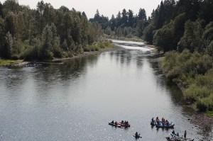 Clackamas river, photo courtesy Clackamas River Basin Council