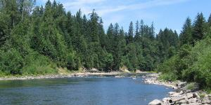 The Clackamas River provides drinking water to many residents of Clackamas County.