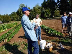 Dean Moburg with NRCS is a soil health expert!