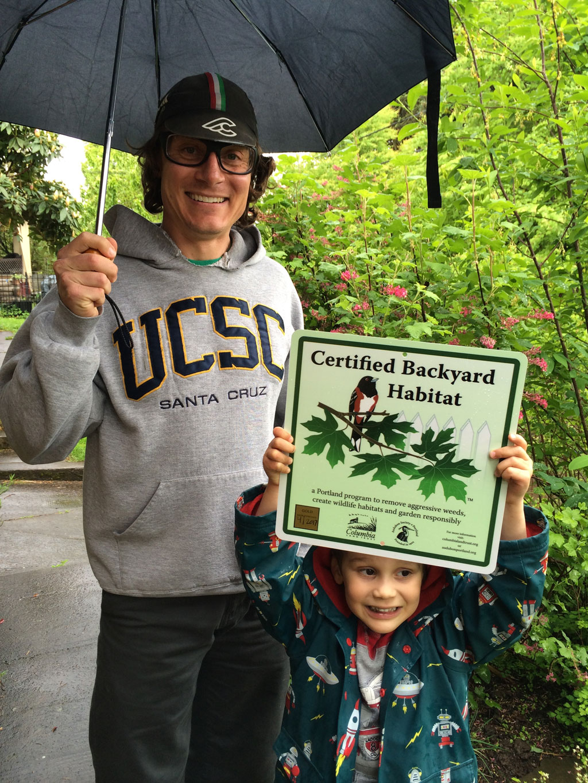 Backyard Habitat Certification Program - Clackamas SWCD