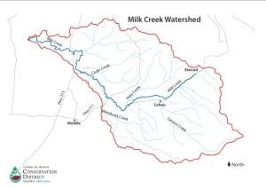 Milk Creek Watershedweb