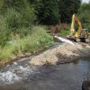 Diversion channel established August 23, 2012