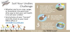 Join the Soil Your Undies Challenge.