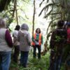 Nichole Ahr leading a tour in the Molalla River Corridor