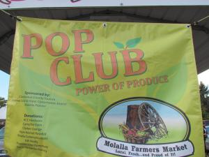 Power of Produce (POP) clubs have been a popular draw at local market and help involve the entire family.