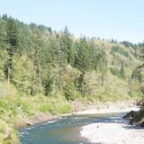 Sandy River After Marmot Dam Removal (Photo by Sam Beebe, Ecotrust)