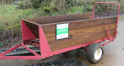Manure/Compost Spreader for Sale - Clackamas SWCD
