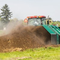 Mechanized compost turning