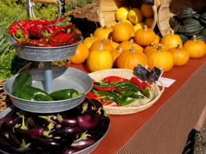 Farmers markets seasons often last until October.
