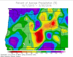 percent of ave precip - National weather service