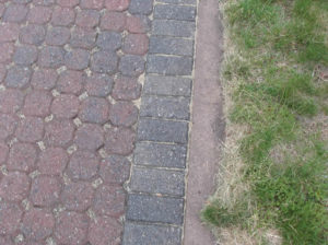 Permeable pavement helps to prevent stormwater runoff.