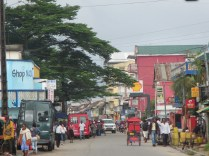 I cannot remember the name of this town, passed it on our way to Morondava